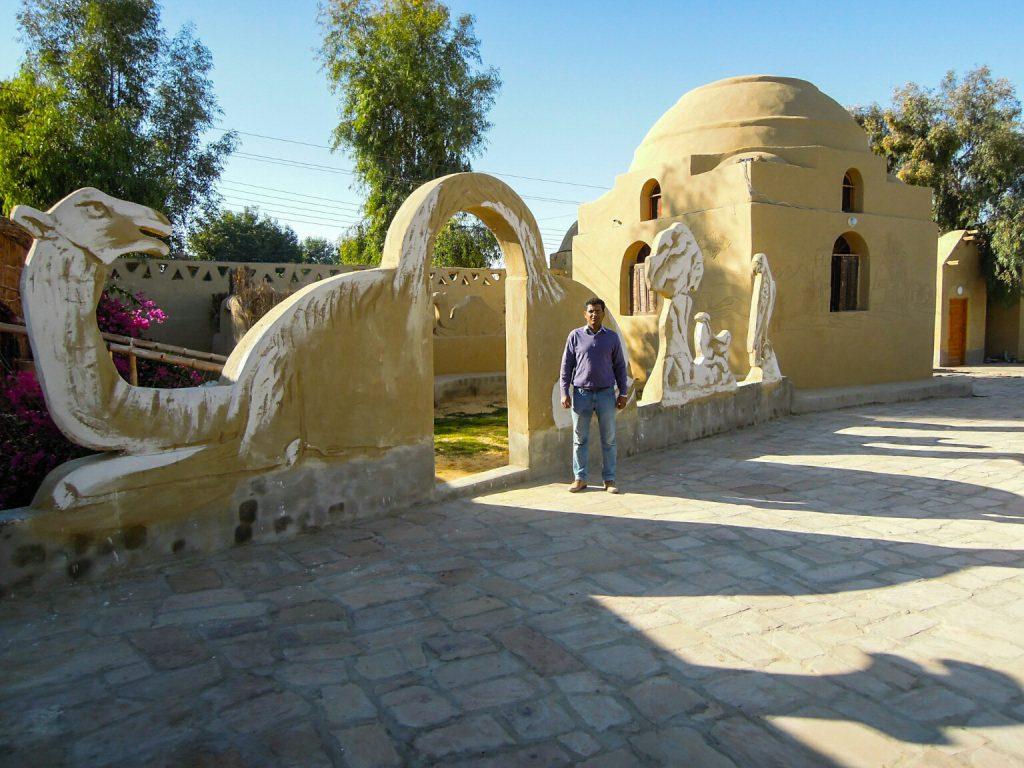 Das Rahala Safari Hotel ist liebevoll gestaltet, Ahmed nennt das Beduinen-Tradition.
