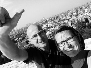 Sonja und Reinhard auf Kairo-Expedition