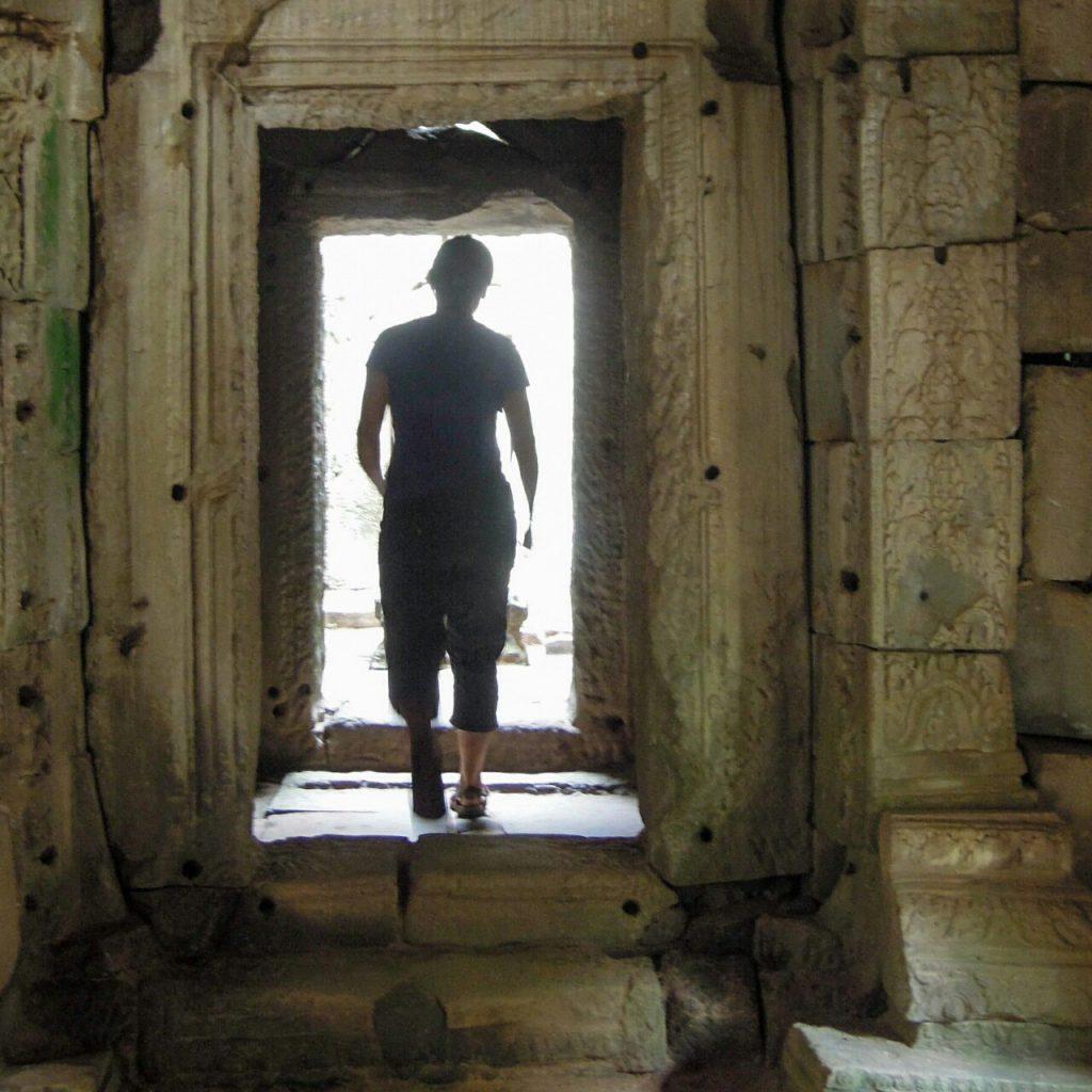 Angkor Tempel Innenansicht Kambodscha