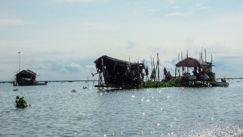 Tonle Sap schwimmendes Dorf Kambodscha