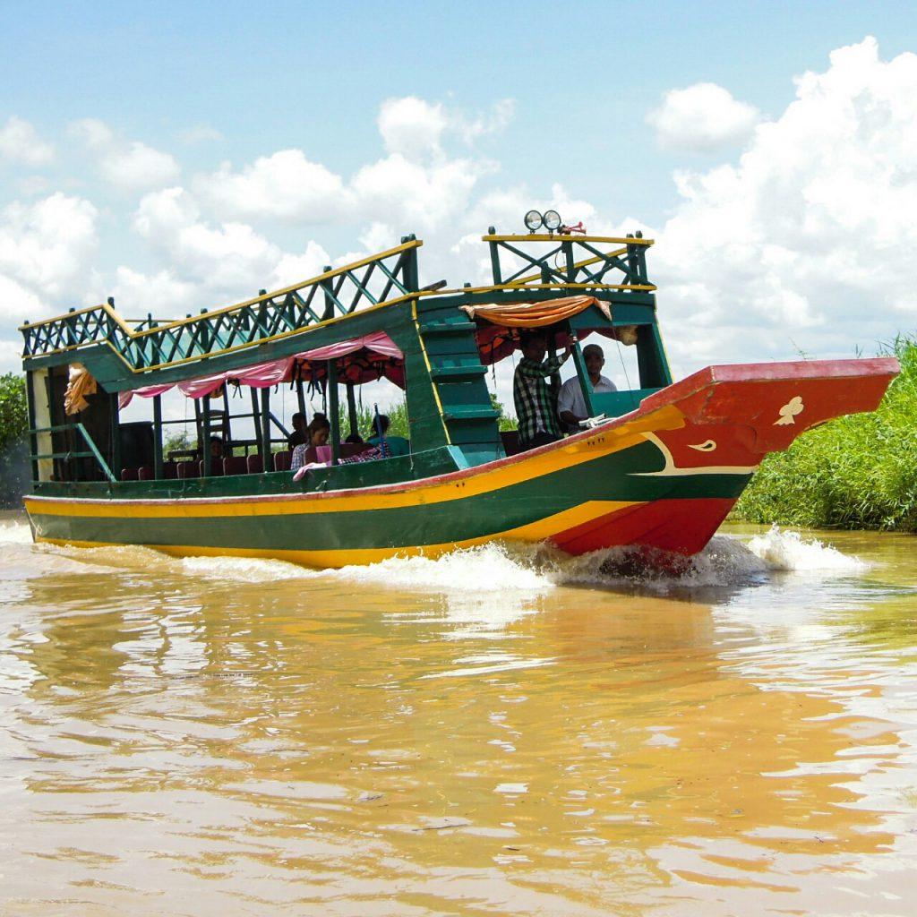Tonle Sap Bootsfahrt Kambodscha