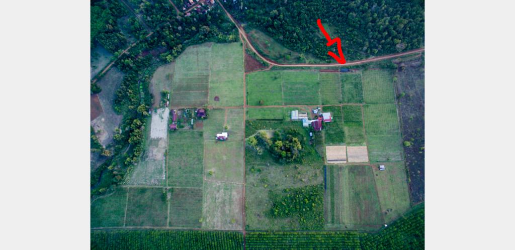 Luftbild Mai Savanh Lao Komposthaufen Drohne Laos