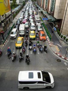 Bangkok Auto Verkehr organic17