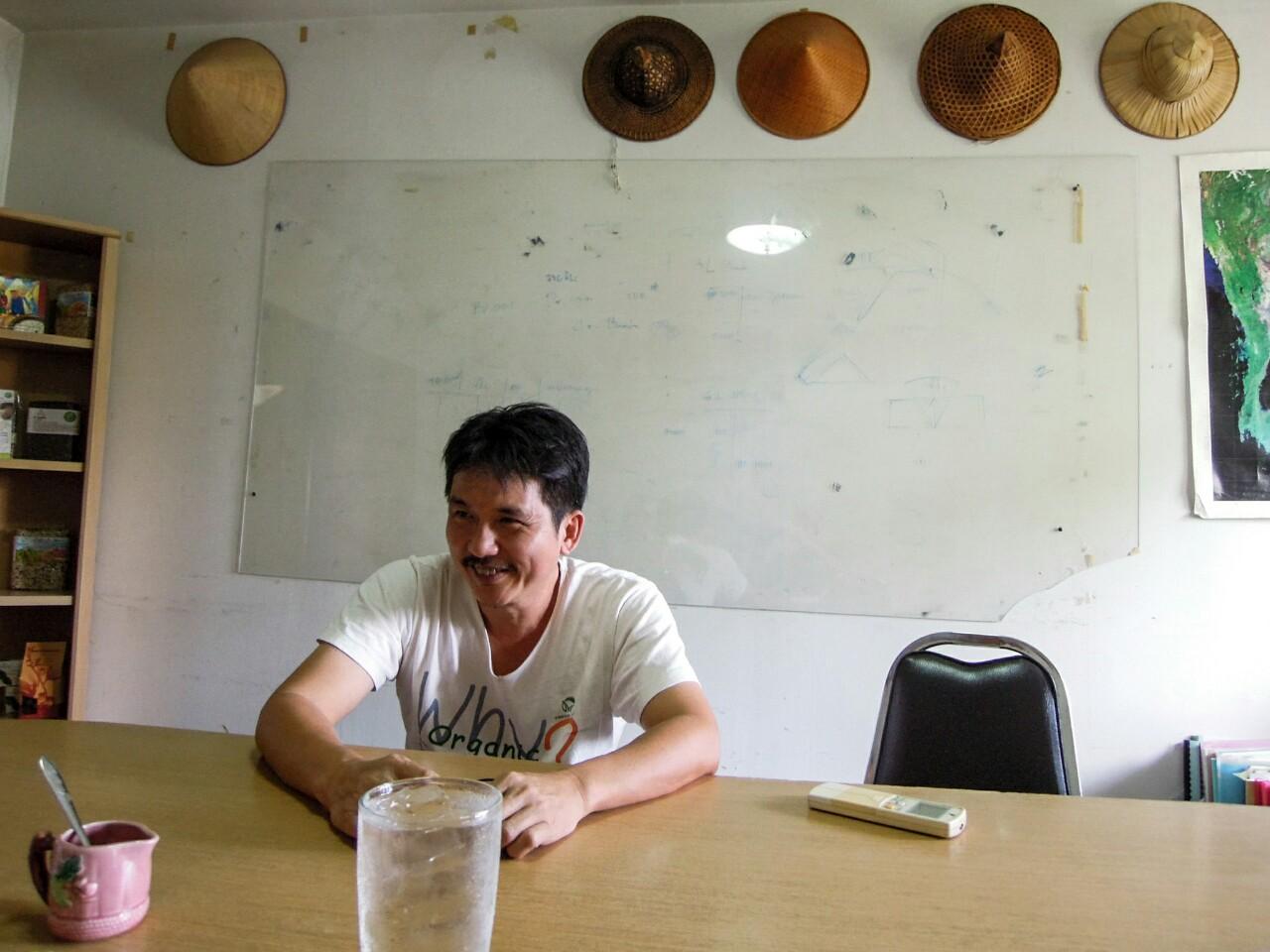 Vitoon Panyakul Greennet im Gespräch Bangkok Bio organic17