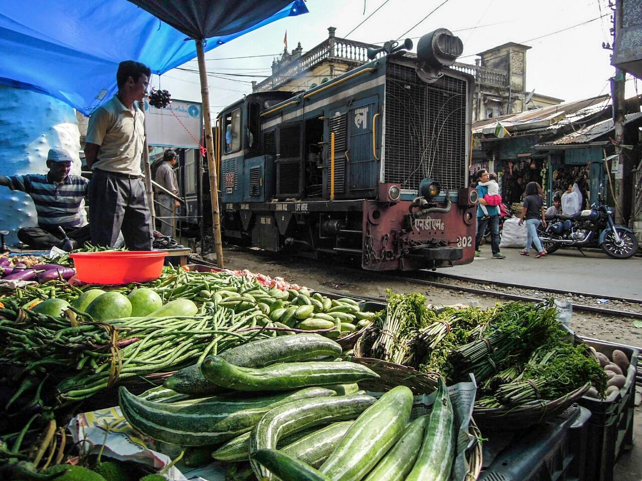 Darjeeling Himalayan Train quert Kurseong