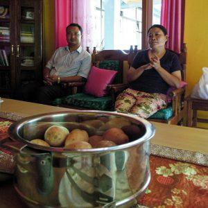 Mala Sherpa und Mani Kumar Gurung, Rongbul (c) Reinhard Gessl