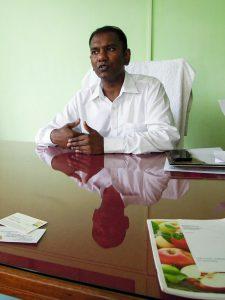 Dr. S. Anbalagan (C) Reinhard Gessl