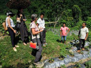 Biobauern in Ost-Sikkim (C) Reinhard Gessl