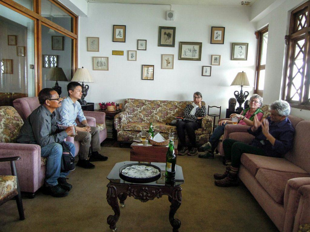 Darjeeling Tee biodynamisch Makaibari Lunch (c) Reinhard Gessl