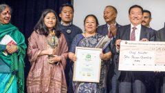 Sikkim 100 % Bio Pawan Chamling One-Worl-Award 2017