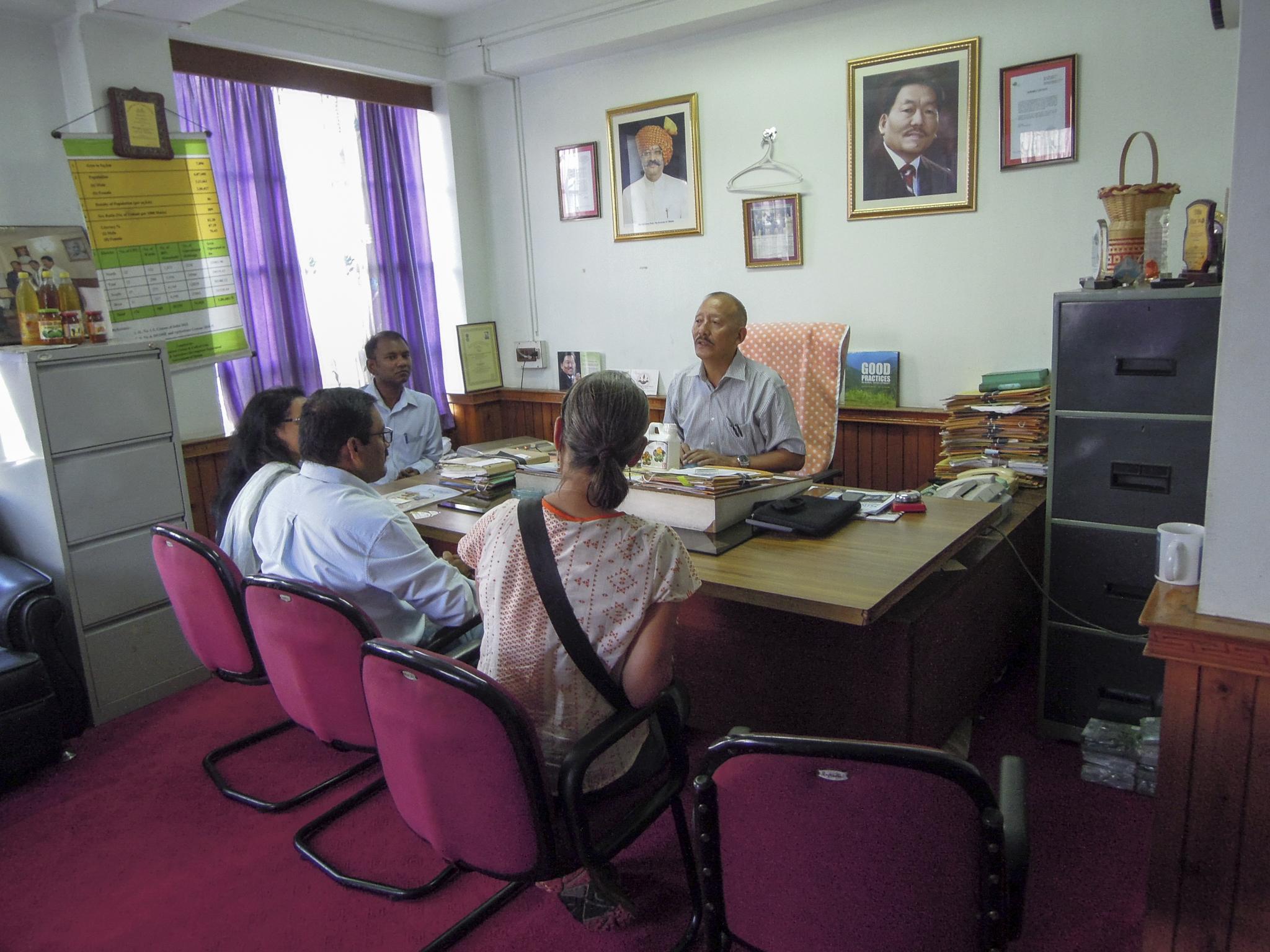Indien Sikkim organic mission 100% Bio Forschungs-Sabbatical organic17