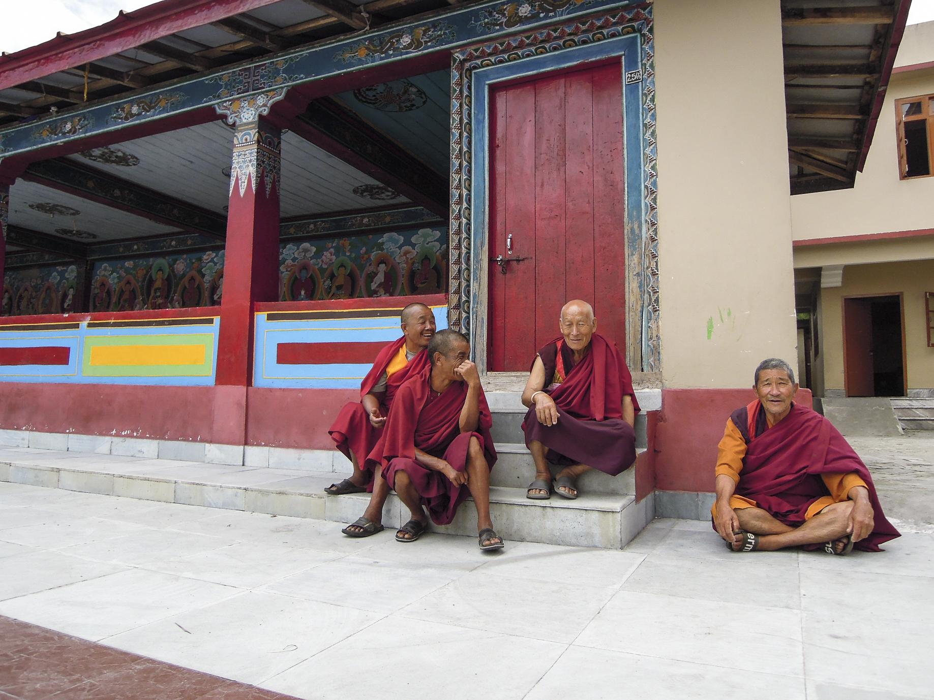 Sikkim, Kloster, Mönche, Sabbatical, organic17