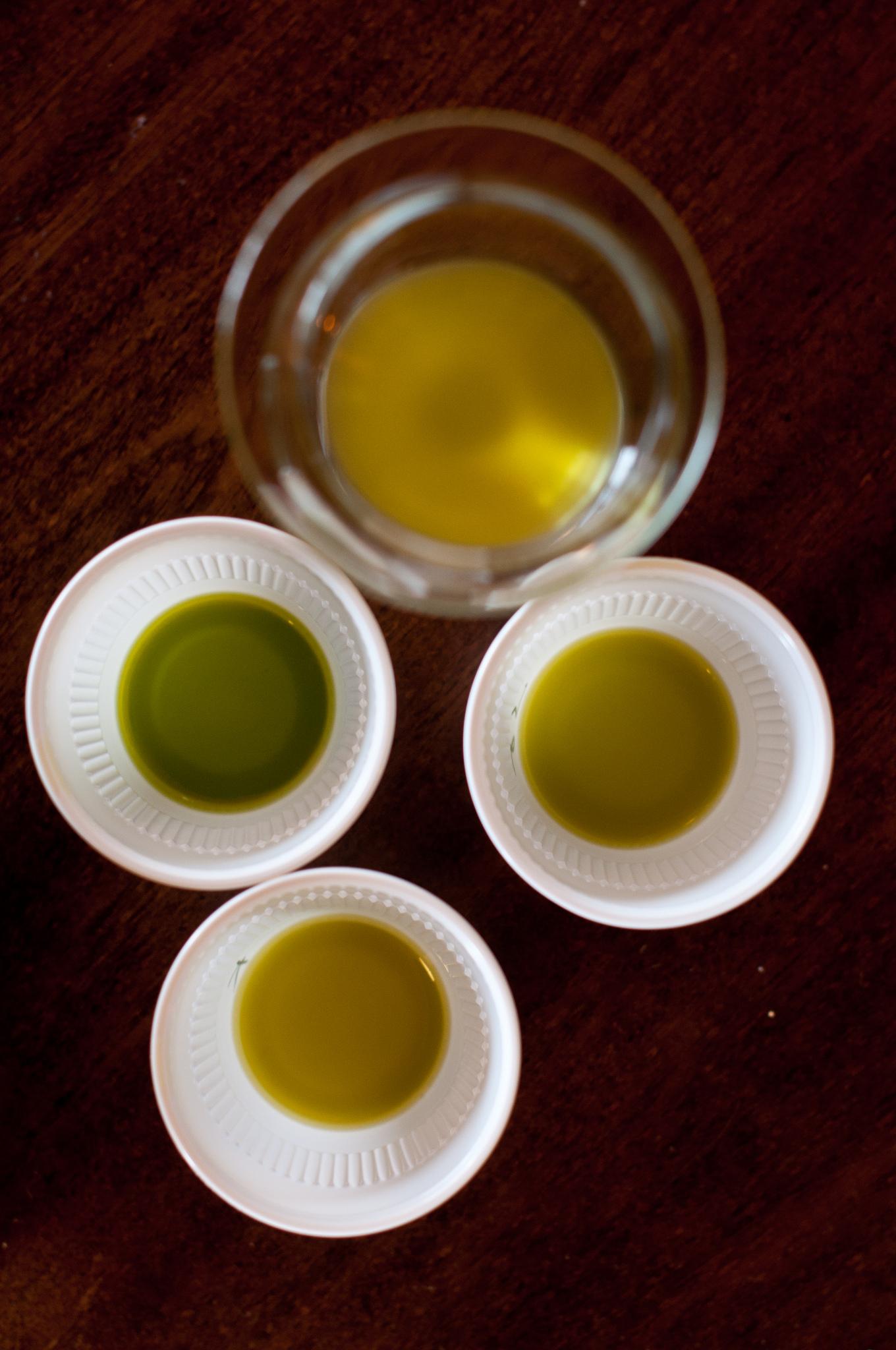 Mani Bio-Olivenöl grasgrünes Öl Griechenland