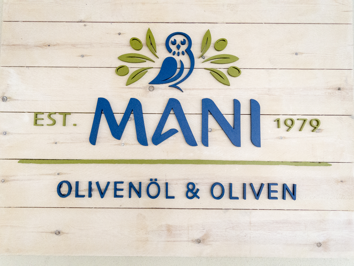 Mani Bio-Olivenöl Mani-Logo neu