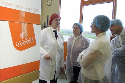 Landgarten Bio-Knabbereien, organic17, Führung, Bio-Schokolade
