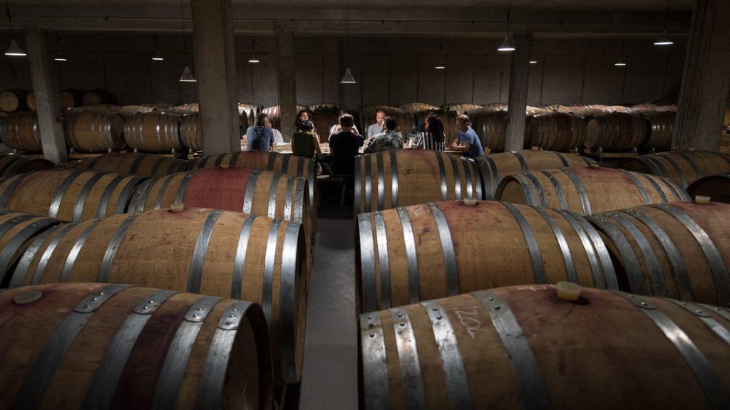Bio-Wein, Blaufränkisch, Weingut Weninger, Verkostung, (c) organic17 Reinhard Gessl