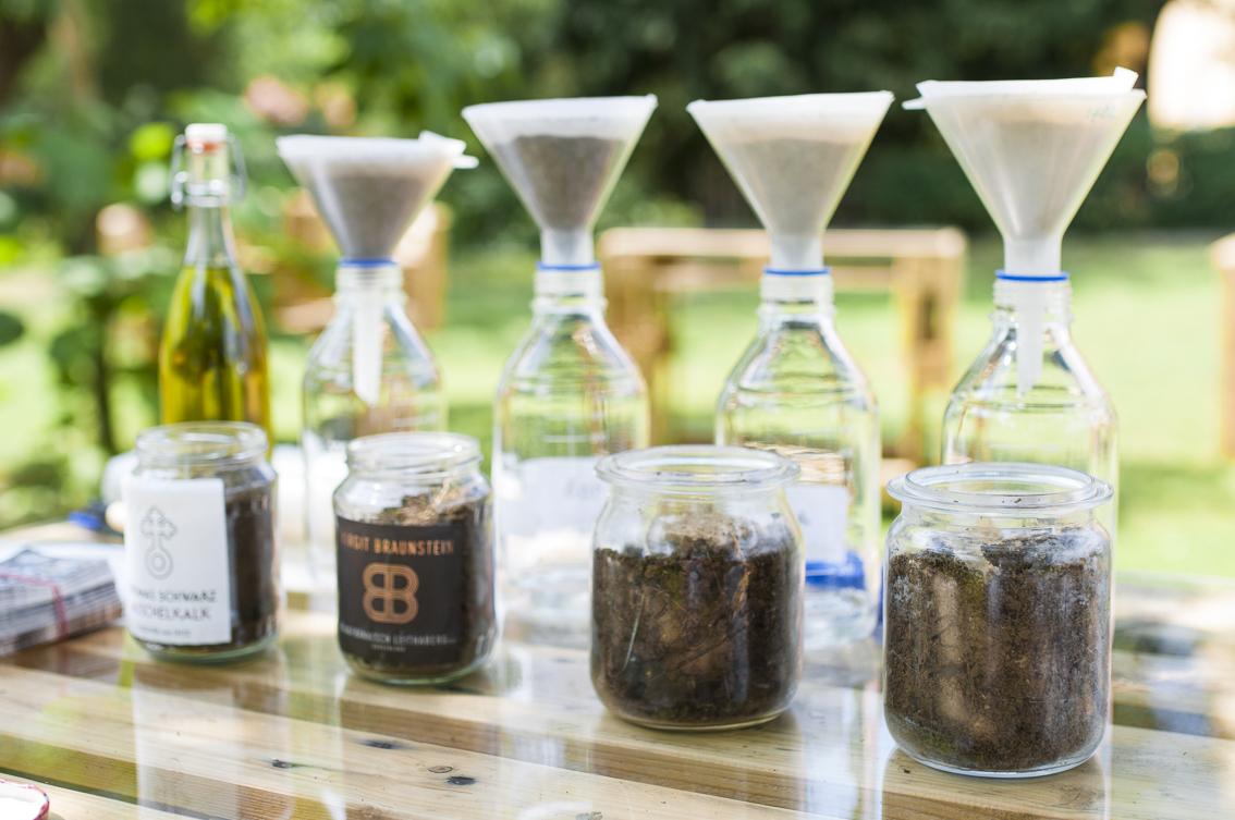 Bodeneluat, Bodenlösung, Bio-Wein, Kostbarer Boden, Tasting_forum, Bio 3.0, #biodreinull, (c) Reinhard Gessl