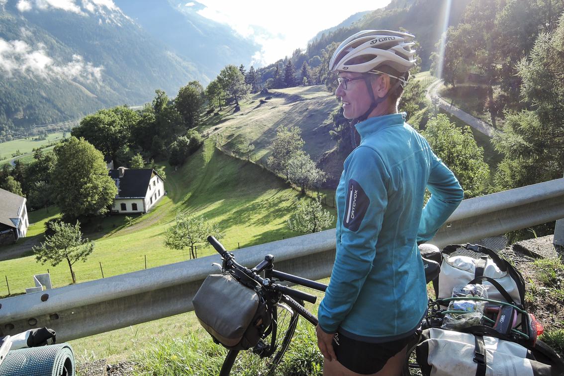 Mit dem Fahrrad durch Bio-Österreich südlich der Alpen Mölltal
