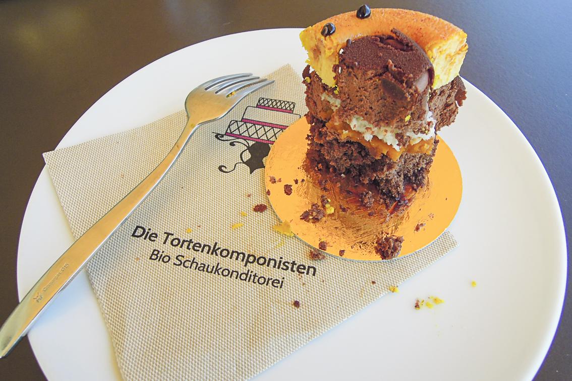 Bio-Torten der Tortenkomponisten schmecken hervorragend!